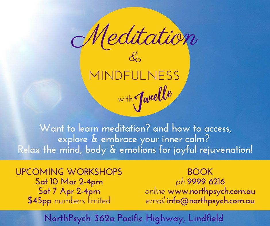 Meditation and Mindfulness with Janelle